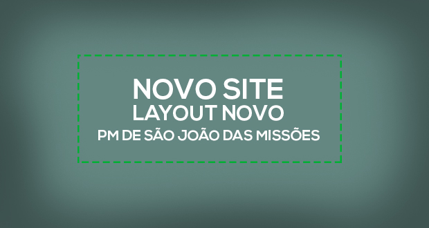 Novo site da Prefeitura Municipal de São João das Missões