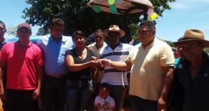 Prefeitura de São João das Missões entrega Trator Agrícola na Aldeia Terra Preta