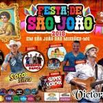Prefeitura de São João das Missões apresenta programação da Festa de São João
