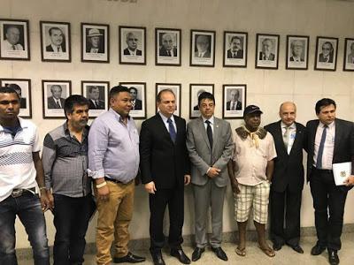 Prefeito Zé Nunes solicita ao Ministério da Saúde mais recursos para a saúde pública do município