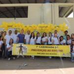 Setembro Amarelo: 1ª Caminhada de Prevenção ao Suicídio e Valorização da Vida é realizada em São João das Missões
