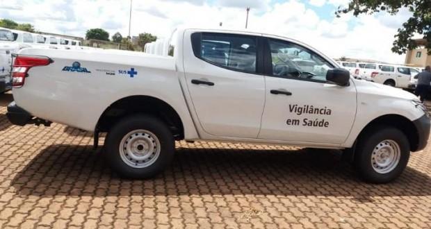Prefeitura de São João das Missões e contemplada com caminhonete 0KM para auxiliar nos serviços de saúde do município