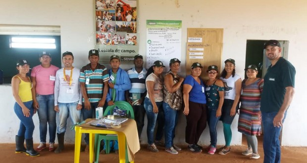 Prefeitura de São João das Missões e Senar promovem curso de implantação de Horta para agricultores familiares