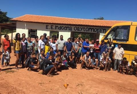 Município de São João das Missões e contemplado com transporte escolar
