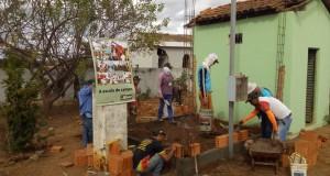Prefeitura de São João das Missões e Senar realizam curso de pedreiro na comunidade de Rancharia