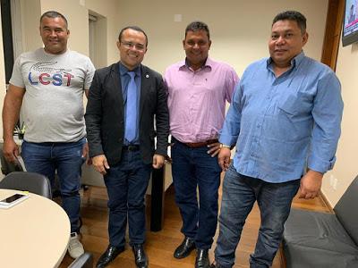 Município de São João das Missões e beneficiado com 02 tratores agrícolas via solicitação do Deputado Estadual Zé Reis