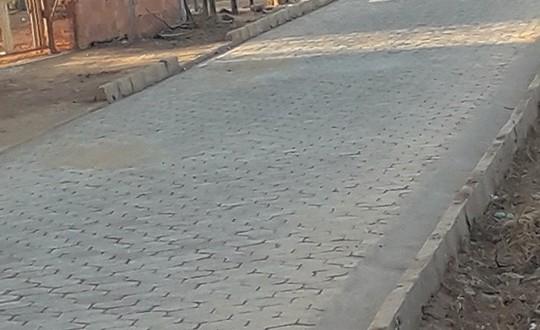 Prefeitura de São João das Missões realiza calçamento em bloquetes na Aldeia Tendas Rancharia