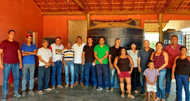 Município de São João das Missões recebe benefícios  importantes via destinação do Deputado Federal Luis Tibé, e Deputado Estadual  Arlen Santiago