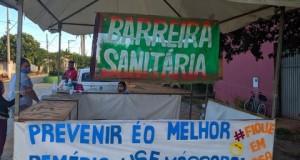 Prefeitura de São João das Missões instala Barreiras Sanitárias nas entradas do município