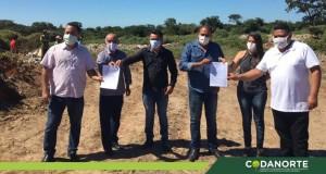 Prefeitura de São João das Missões participa da assinatura de ordem de serviço para construção de Usina de Triagem para processamento de lixo doméstico