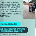 Prefeitura de São João das Missões desenvolve trabalhos diários nas Barreiras Sanitárias do município