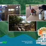 Prefeitura de São João das Missões e Secretaria Municipal de Agricultura realiza Assistência Veterinária junto aos Pequenos Produtores Rurais