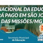 Prefeitura de São João das Missões realiza Reajuste Salarial para Servidores da Educação